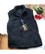 S2 Sherpa Vest - Women's LARGE  Black  - $19.77