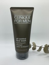 New Clinique for Men OIL-CONTROL Face Wash 6.7oz/200ml-Normal to Oily Skin - $21.19