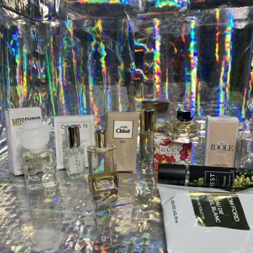 NEW IN BOXES Mini Fragrance / Perfume Lot Tom Ford Gucci Lancome Nest Citrine !