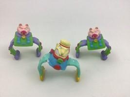 Teenage Mutant Ninja Turtles Vintage 80s Arm Bands Toy Lot 3pc Wrist Bra... - $26.68