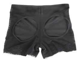 NEW WOMEN'S QUEEN LACE BUTT SHAPER BOOSTER PANTY SHEER BLACK GR8231 SIZE XL image 4
