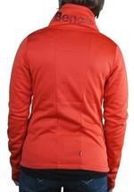 Bench Orange Galsworthy Zip Thru Warm Up Track Jacket BLEA3297-OR035 NWT image 2