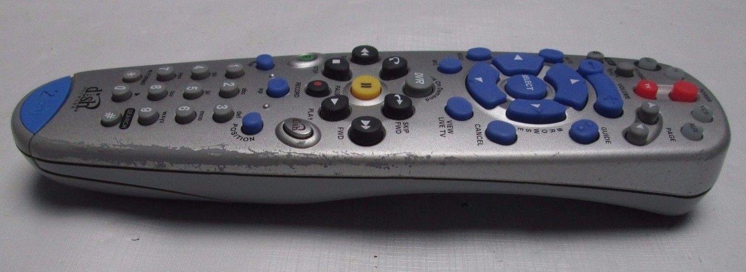 DISH NETWORK 6.0 #2 IR/UHF REMOTE CONTROL DVR 625 522 942 DKNFSK03 Model 132578