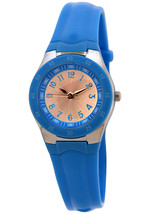 FMD by Fossil Ladie's Standard 3-Hand Analog Base Metal Silicone Watch - $74.98