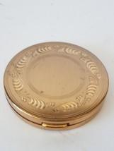 Elgin American Adapto Gold Toned Compact Presse... - $12.99