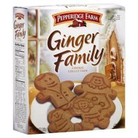 Pepperidge Farm Cookie Collections Ginger Family 9 Cup Cookies, 18 Count(pack of