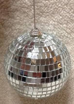 "Jumbo Mirror Ball With Hanger Party Decor 4.5"" ... - $9.49"