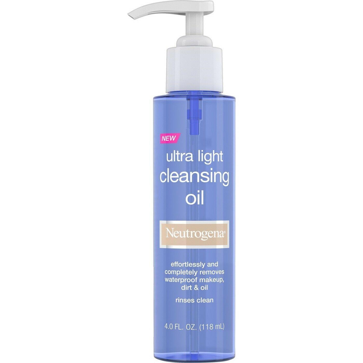 Neutrogena Cleansing Oil 4 fl oz. - $10.99