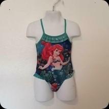 Disney - Ariel 1 Piece Swimsuit Girls Sz 18 Mo. Free Shipping! - $7.99