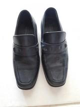 Shoes Boys PERRY ELLIS PORTFOLIO Brian Black Size 2 EUC - $25.99