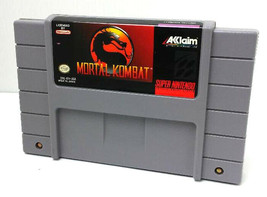 SNES MORTAL KOMBAT - Tested - CIean - 100% Working - Nintendo Game ONLY ... - $8.99