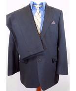 BROOKS BROTHERS 346 STRETCH GRAY SUIT Mens 44L/44 L Jacket~34 X 31 Pleat... - $97.99