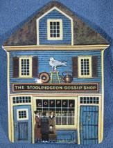 The Stoolpidgeon Gossip Shop Charles Wysocki Folktown Collector Plate Br... - $27.97