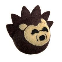 Dog Squeaky Toys, Hedgehog Woodland Tough Cute Stuffed Plush Dog Chew Toy - $18.99