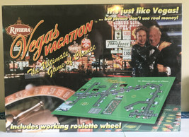 NEW Vegas Vacation Board Game Black Jack Roulette Carousel Games - $18.99