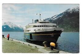 M V Taku Marine Highway Ferry Ship Haines Alaska Vintage Postcard 1960s - $4.99