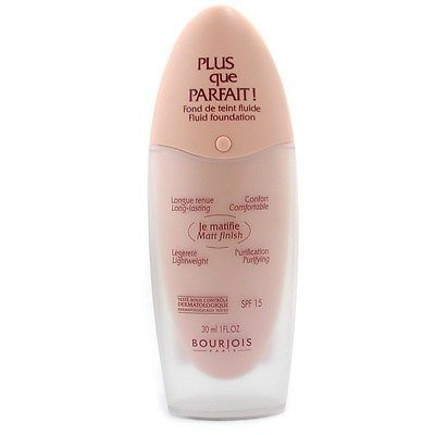 Primary image for Bourjois Plus Que Parfait Fluid Cream Foundation SPF15 # 17 CAFE NWOB   Sealed