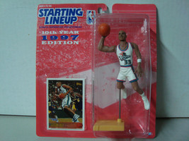 1997 Starting Lineup NBA Series 10 Detroit Pistons Grant Hill Action Fig... - £6.55 GBP
