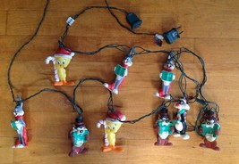 Looney Tunes Vintage Holiday Christmas/Holiday Lights 8' Taz Bugs Bunny ... - $28.70