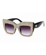 Fashion 2018 Sunglasses Women Oversized Square Frame Small Diamond Anti ... - $22.99