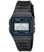 Casio F91W-1 Classic Resin Strap Digital Sport Watch - $9.90