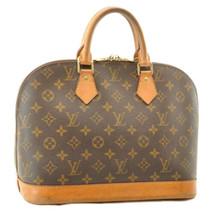 LOUIS VUITTON Monogram Alma Hand Bag M51130 LV Auth 8832 - $298.00