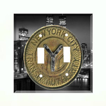 New York City Subway Token Light Switch PlateTransit Authority Manhattan NY - $6.88+