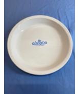 Corning Ware Vintage Blue Cornflower White Plate Baking Dish 309 Oven Mi... - $11.99