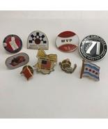Lot Of Alaska Themed Souvenir Travel Pins - $3.95