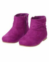 NWT GYMBOREE GIRLS PURRFECTLY FABULOUS COLLECTION FAUX SUEDE BOOTS - $7.49