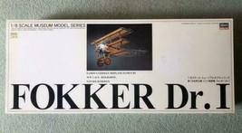Fokker Hasegawa Museum model Dr.1 figure airplane manual box new unused - $841.49