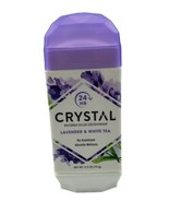 Crystal Deodorants Invisible Solid Deodorant Lavender and White Tea - 2.... - $10.84
