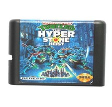 Turtles The Hyperstone Heist 16 bit MD Game Card For Sega Mega Drive For... - $9.50