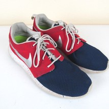 Nike Rosche Run Men's size 9.5 Red White & Blue Shoes 855901-991 - £19.84 GBP