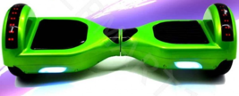 Green Bluetooth Hoverboard LED's Two Wheel Balance Scooter UL2272 - $249.00