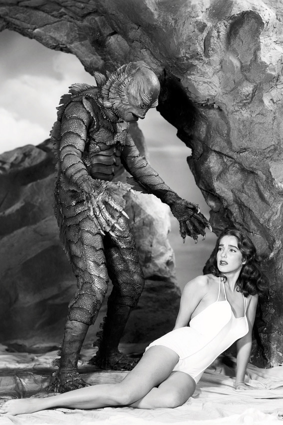 Primary image for Julie Adams Barefoot Ben Chapman Creature From The Black Lagoon 18x24 Poster