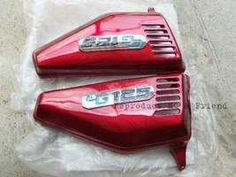 Honda CG110 CG125 JX110 JX125 Side Cover Set L/R Red New - $18.61