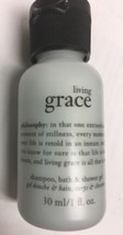 Philosophy Living Grace, Shampoo, Bath, And Shower Gel, 1 Oz, Mini - $4.00