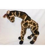 Sigikid Giraffe Plush Stuffed Animal Dark Brown Tan German Soft Toy - $29.67