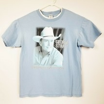 George Strait Somewhere Down In Texas 2006 Country Music Tour Sz L Graph... - $13.07