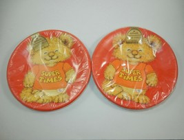 "Hallmark Shirt Tails 9"" Paper Plates SEALED - $19.99"