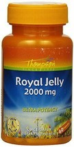 NEW Thompson Royal Jelly Ultra Potency 2000 Mg for Nutritive Support 60 ... - $17.00