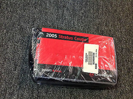 2005 Dodge Stratus Coupe Factory Owners Operators Owner Manual Feo Booklet New - $21.78