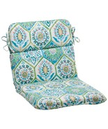 """CC Outdoor Living 40.5"""" Psychedelic Blue Outdoor Patio Rounded Chair Cus... - $82.90"""