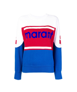 Women Gallian Marant Logo Cotton-blend  Jumper Sweatshirt - $188.00