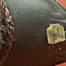 Ceramic Mallard Duck Decoy Lint Remover Brush Figurine Jasco Vintage image 6