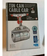 Tin Can Cable Car STEM build science engineering hobby by 4M Factory Sealed - $14.95