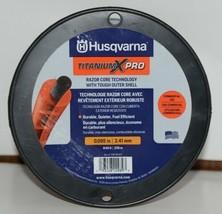 Husqvarna 596781201 Titanium X Pro Trimmer Line Orange 840 ft Size .095 Spooled image 2