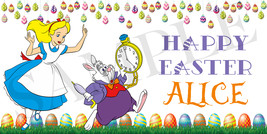Alice in Wonderland Easter Basket Sticker, Wate... - $3.50 - $4.50