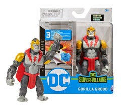 "DC Heroes Unite Gorilla Grodd 4"" Figure with 3 Mystery Accessories Mint ... - $24.88"